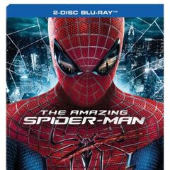 The Amazing Spider-Man<br />UK Blu-ray cover