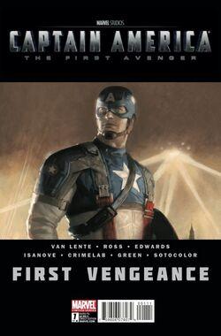 Captain America First Vengeance Vol 1 1