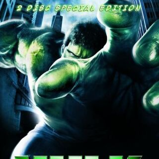 Hulk<br />2 Disc Special Edition UK DVD