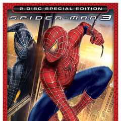 Spider-Man 3 dvd.