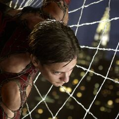 Spidey/Peter web climb.