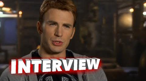 "Marvel's Avengers Age of Ultron Chris Evans ""Steve Rogers Captain America"" Interview"