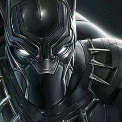 Concept art of Black Panther by Mike Thompson