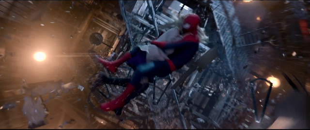 File:Spider-Man & Gwen crashing into the tower.png