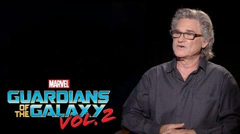 Kurt Russell on Marvel Studios' Guardians of the Galaxy Vol