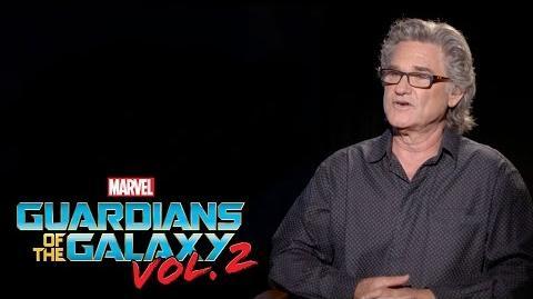 Kurt Russell on Marvel Studios' Guardians of the Galaxy Vol. 2