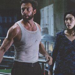 Wolverine and Mariko