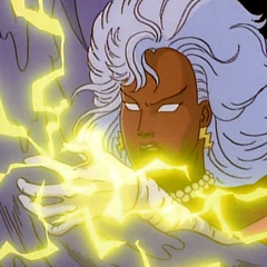 Ororo tries to defend her friends' engagement.
