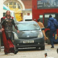 Thor in London.
