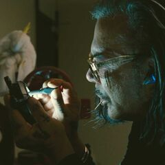 Ivan Vanko working on his 2nd Arc reactor.