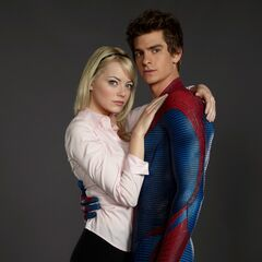 Gwen Stacy and Peter Promotional Image.