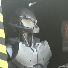 Ultron spotted on set