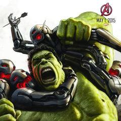Comic-Con poster of The Hulk