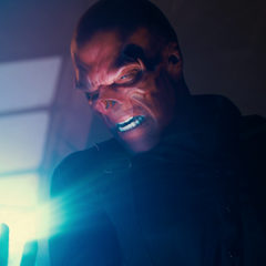 The cube in the hand of The Red Skull.