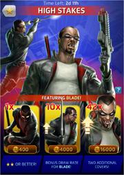 High Stakes Comic (Season VII) Offer