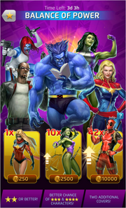 Balance of Power Comic Offer