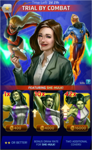 Trial By Combat Comic (Season IX) Offer