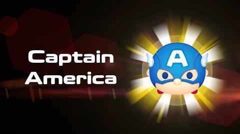 Captain America Skills Intro MARVEL Tsum Tsum
