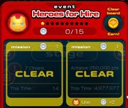 HeroesForHire MissionClear