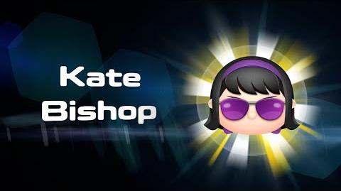 Kate Bishop Skills Intro MARVEL Tsum Tsum