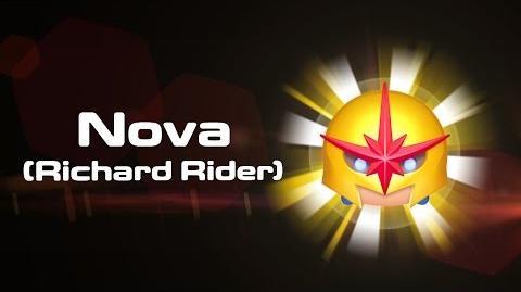 Nova (Richard Rider) Skills Intro - MARVEL Tsum Tsum