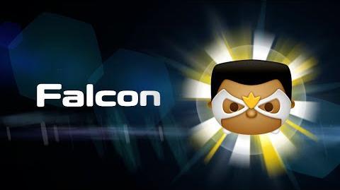 Falcon Skills Intro MARVEL Tsum Tsum