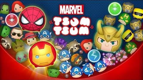 MARVEL Tsum Tsum Mobile Game Now Available