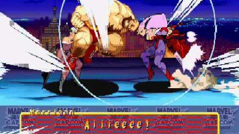 Marvel Vs Capcom Lilith ending (final)
