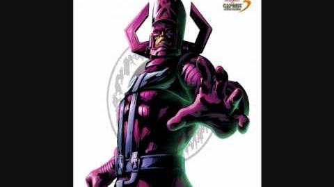 Galactus Theme Marvel vs