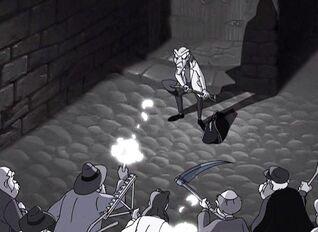 Dr. Frankenstein throw back Chipmunks