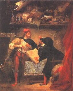 Delacroix mephistopheles 1826