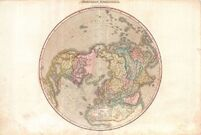 Pinkerton's Map of the Northern Hemisphere 1818