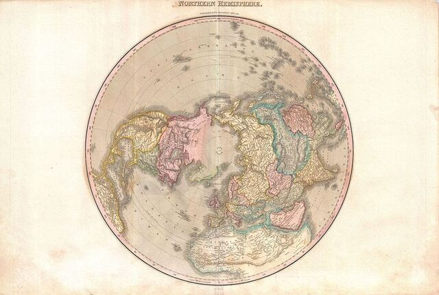 File:Pinkerton's Map of the Northern Hemisphere 1818.jpg