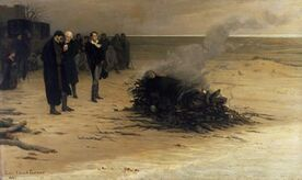 Funeral of shelley