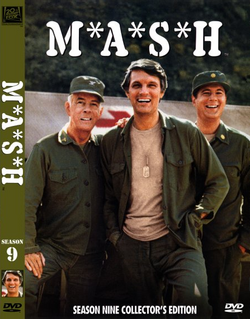 MASH Season 9 DVD cover