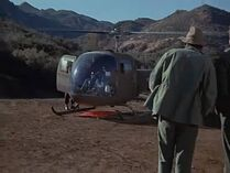 Henry leaves on chopper-pilot