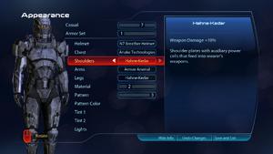 ME3 Armor Customization