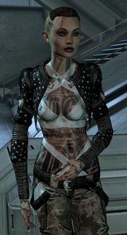 Jack w Mass Effect 3