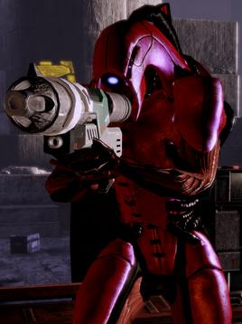 Geth Rocket Trooper ME2