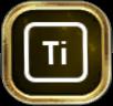 Titanium icon