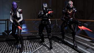 ME3 combat - temp squaddies