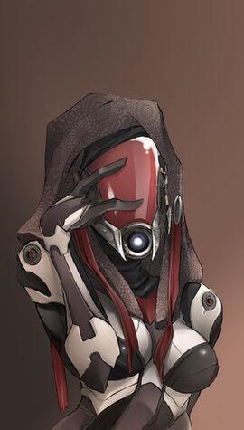 Mass Effect Quarian by SiegeRedwolf