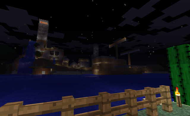File:Dovahkiin City from afar at Night.png