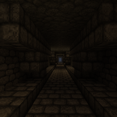 The tunnel connecting Dwarven Realms