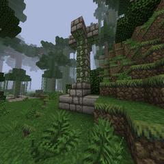 Ruin pillar