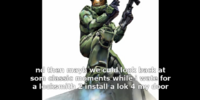 Master Chief Sucks at Ordering: The Chronicle