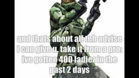 Master Chief Sucks at Online Dating