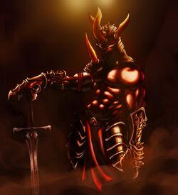 Demon knight by Edragon