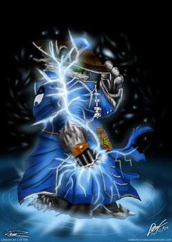 Raijin Thunderkeg Storm Spirit by Constrictorz