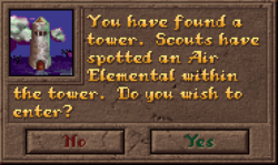 Encounter Tower Dialog